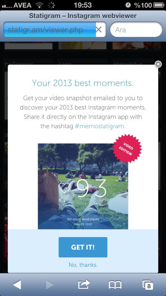 statigram-memostatigram-instagram-2013 video